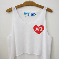 Fresh Tops Harry Styles Lover Crop Top | fresh-tops.com