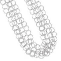 17in Multistrand Round Link Necklace