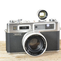 Yashica Electro 35 GSN Rangefinder with Wide Angle and Telephoto Lens and Accessories // Tested & Working