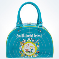 Disney Parks It's a Small World Travel Bowler Bag by Perillo New