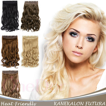 best blonde clip in hair extensions products on wanelo