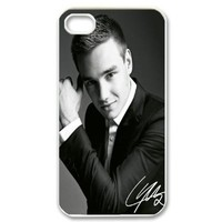 1D One Direction Liam Payne Iphone 4 4s Case Cover ,Apple Plastic Shell Hard Case Cover Protector Gift Idea