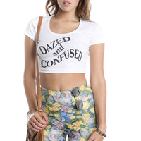 Dazed and Confused Crop Tee - Jawbreaking