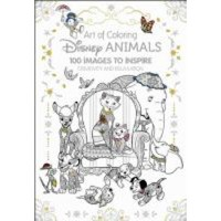 Art of Coloring: Disney Animals: 100 Images to Inspire Creativity and Relaxation - Walmart.com