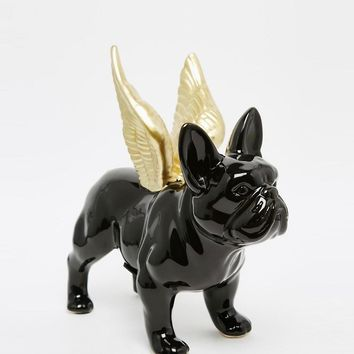 Sass & Belle | Sass & Belle Black Bulldog Money Pot at ASOS