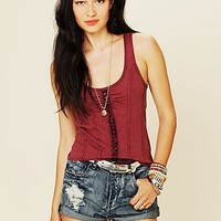 Free People Tuck Me In Tank