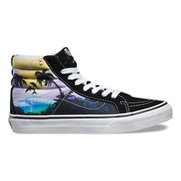Dolphin Beach SK8-Hi Slim | Shop Womens Shoes at Vans