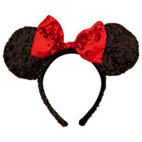 Disney Minnie Mouse Ears Headband for Women | Disney Store