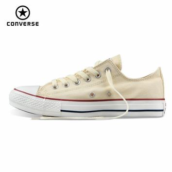 Original Converse all star men's and women's sneakers canvas shoes for men women low classic Skateboarding Shoes free shipping