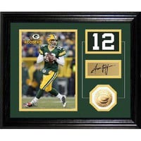 NFL GREEN BAY PACKERS Aaron Rodgers Player Pride Desk Top Photo Mint
