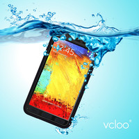 Vcloo Waterproof Case, Durable Full Sealed Case, Shock Proof Protection Case with a 3.5mm AUX Cable for Samsung Galaxy Note 3