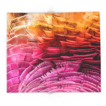 Society6 RUFFLED Blanket