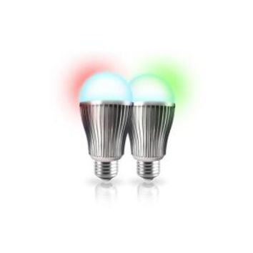 Bayit Home Automation 60W Equivalent Connected Home Color Changing LED Light Bulb Starter Kit (2-Pack) BH1805 at The Home Depot - Mobile