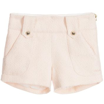 Chloe Girls Blush Pink Shorts