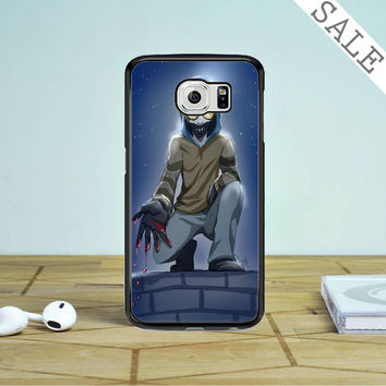 Creepypasta Ticci Toby Samsung Galaxy S6 Edge Plus Case
