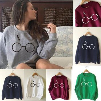 You're A Wizard Sweatshirt - Womens Casual Knitted Long Sleeve Sweater Coat Jacket Outwear Knitwear