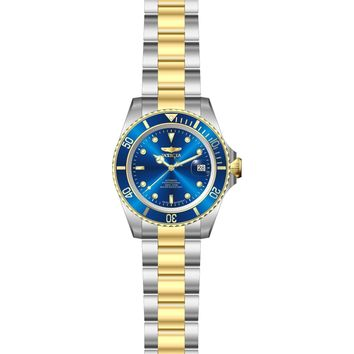 Invicta Men's 9938OB Pro Diver Automatic 3 Hand Blue Dial Watch