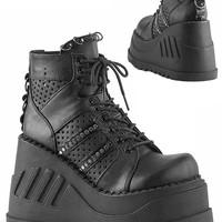 Stomp-12 Ankle Boots   RaveReady