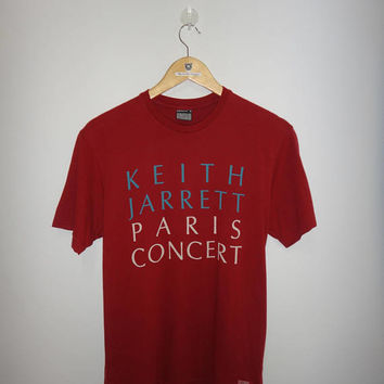 Keith Jarrett Paris Concert ECM Records jazz fusion Concert Tour Tee Paris France