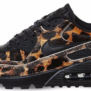 BC QIYIF Nike Air Max 90 Leopard Pony Hair