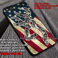 Deer Camo America Flag iPhone 6s 6 6s+ 6plus Cases Samsung Galaxy s5 s6 Edge+ NOTE 5 4 3 #art ii