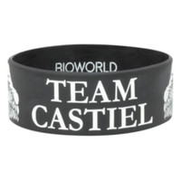 Supernatural Team Castiel Rubber Bracelet