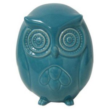 Garden Place® Owl Sculpture - Blue