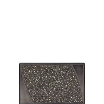 Khirma Marchese Swarovski® Crystal Clutch Bag, Gray