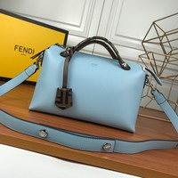 Fendi Women Leather Shoulder Bag Satchel Tote Bag Handbag Shopping Leather Tote Crossbody Satchel Shouder Bag created