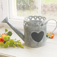 Zinc Amelie Watering Can Display Planter
