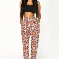 Dream Print Jogger - Ivory Multi