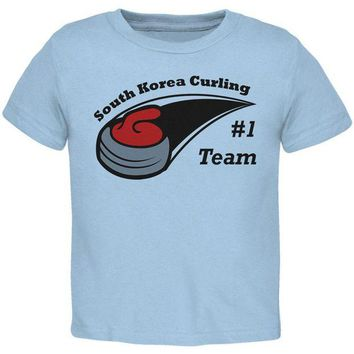 DCCKU3R Winter Games Curling Team South Korea Toddler T Shirt