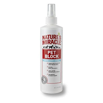 Nature's Miracle Pet Block Deterrent Spray