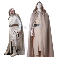 Star Wars 8 :The Last Jedi Luke Skywalker Cosplay Costume Adult Mens
