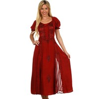 Sakkas Bridget Renaissance Dress