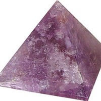 1 X STONE PYRAMID - AMETHYST 25-30MM by New Age
