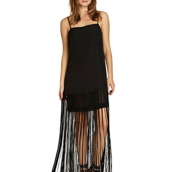 Bcbgeneration Fringe Maxi Dress