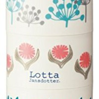 Bottle-type 3stage lunch box 480ml Lotta Jansdotter