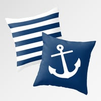 Nautical Pillows by M Studio - Each Sold Separately
