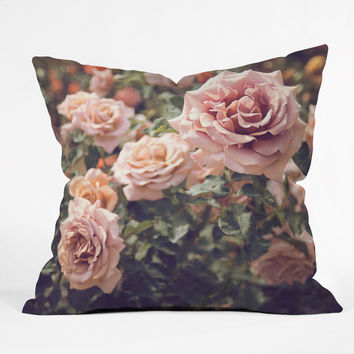 Bree Madden Rose Throw Pillow