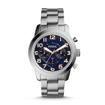 Pilot 54 Chronograph Stainless Steel Watch - $145.00
