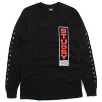 Worldwide International Longsleeve T-Shirt Black