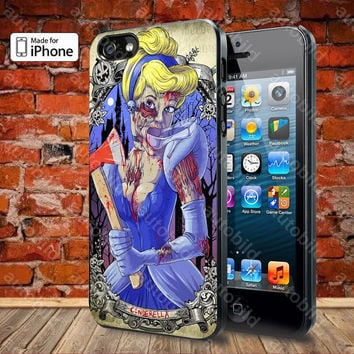The Zombie Cinderella princess Case For iPhone 5, 5S, 5C, 4, 4S and Samsung Galaxy S3, S4