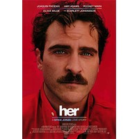 Her 27x40 Movie Poster (2013)