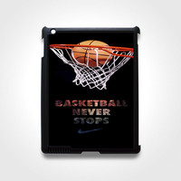 Nike Basketball For iPad 2 3 4 iPad Mini Case
