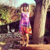Tie Dye Sun Dress by ChronicallyNaked on Etsy