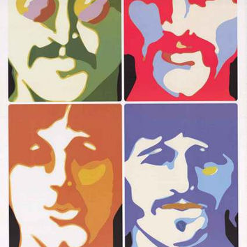 The Beatles Sea of Science Poster 22x34