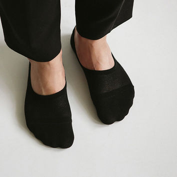 Comfortable yours for life men no show socks set