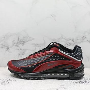 Nike Air Max Deluxe 99 Black Red Running Shoes
