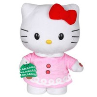 Side-Stepping Hello Kitty Plush Figure